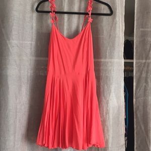 Super cute summer coral dress